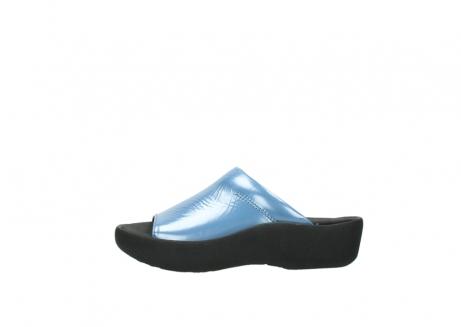 wolky slippers 3201 nassau 682 denim blauw lakleer_1