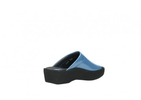 wolky slippers 3201 nassau 682 denim blauw lakleer_10