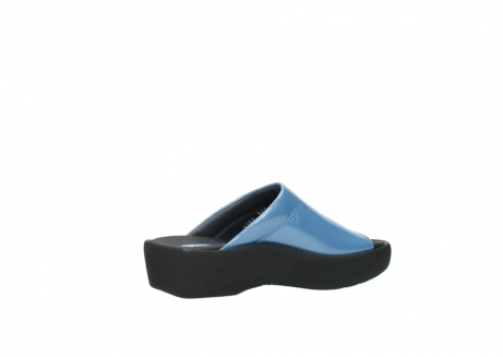 wolky slippers 3201 nassau 682 denim blauw lakleer_11