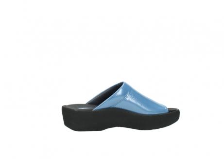 wolky slippers 3201 nassau 682 denim blauw lakleer_12