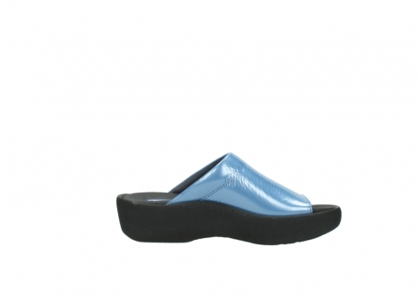 wolky slippers 3201 nassau 682 denim blauw lakleer_13