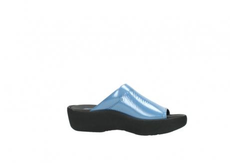 wolky slippers 3201 nassau 682 denim blauw lakleer_14