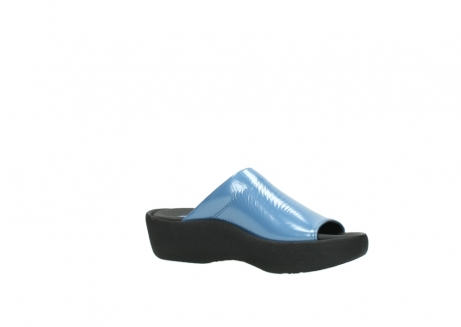 wolky slippers 3201 nassau 682 denim blauw lakleer_15