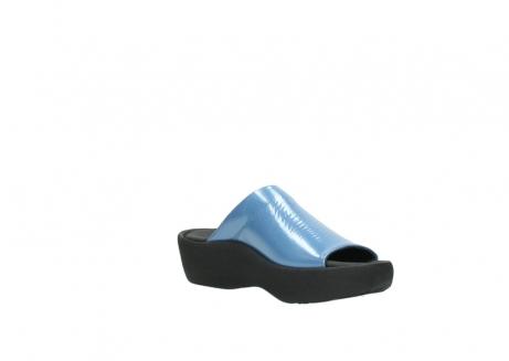 wolky slippers 3201 nassau 682 denim blauw lakleer_16