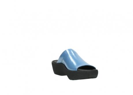 wolky slippers 3201 nassau 682 denim blauw lakleer_17