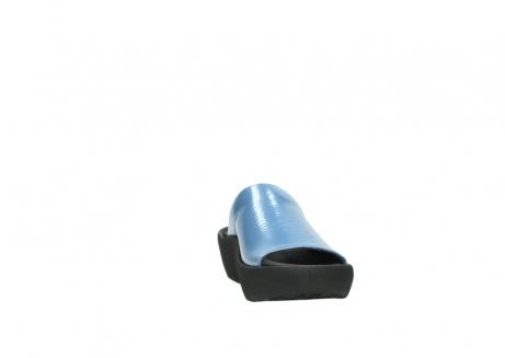 wolky slippers 3201 nassau 682 denim blauw lakleer_18