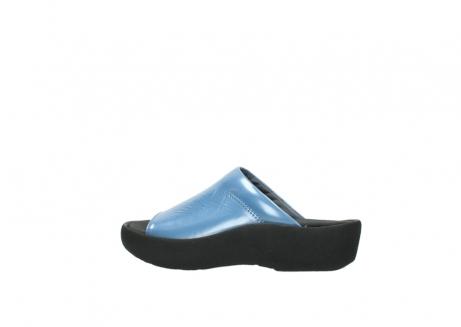 wolky slippers 3201 nassau 682 denim blauw lakleer_2