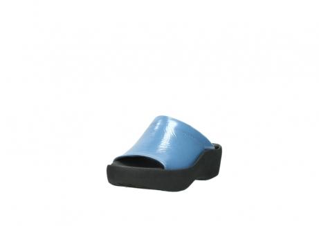 wolky slippers 3201 nassau 682 denim blauw lakleer_21