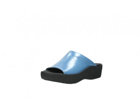 wolky slippers 3201 nassau 682 denim blauw lakleer_22