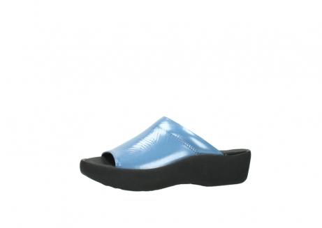 wolky slippers 3201 nassau 682 denim blauw lakleer_24