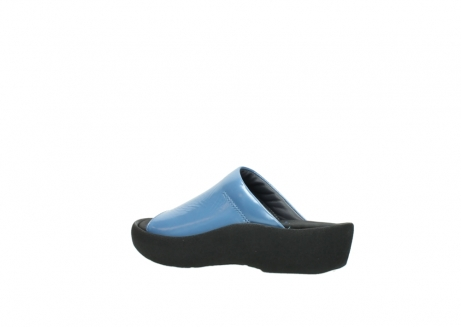 wolky slippers 3201 nassau 682 denim blauw lakleer_3