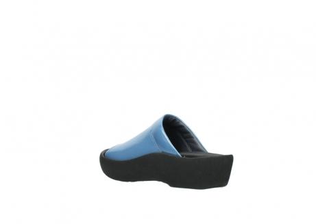 wolky slippers 3201 nassau 682 denim blauw lakleer_4