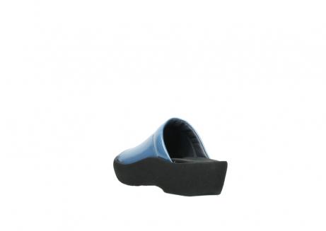 wolky slippers 3201 nassau 682 denim blauw lakleer_5