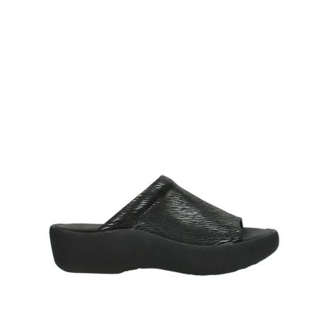 wolky slippers 3201 nassau 700 zwart canals