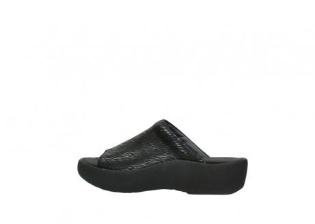 wolky slippers 3201 nassau 700 zwart canals_2