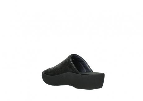 wolky slippers 3201 nassau 700 zwart canals_4
