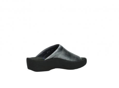 wolky slippers 3201 nassau 928 grijs metallic leer_11