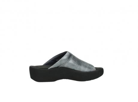 wolky slippers 3201 nassau 928 grijs metallic leer_12