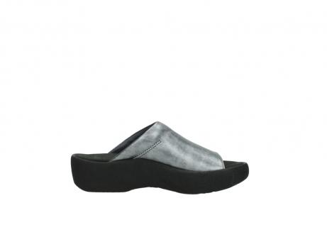 wolky slippers 3201 nassau 928 grijs metallic leer_13