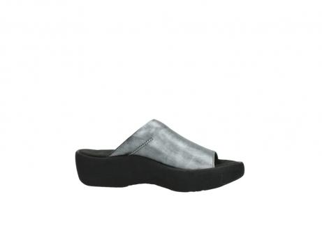 wolky slippers 3201 nassau 928 grijs metallic leer_14