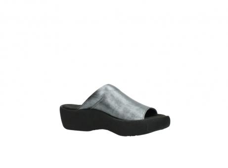 wolky slippers 3201 nassau 928 grijs metallic leer_15