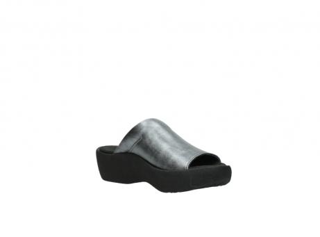 wolky slippers 3201 nassau 928 grijs metallic leer_16