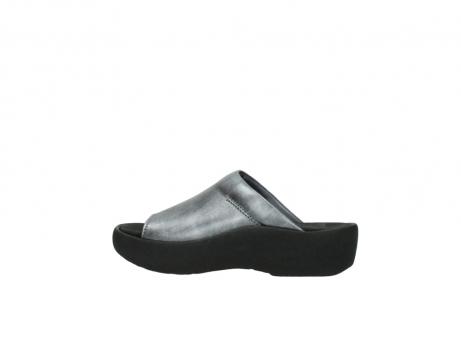 wolky slippers 3201 nassau 928 grijs metallic leer_2