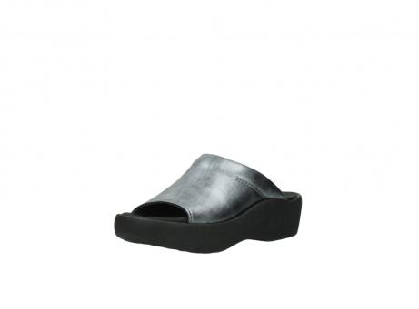 wolky slippers 3201 nassau 928 grijs metallic leer_22