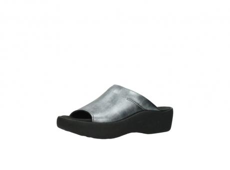 wolky slippers 3201 nassau 928 grijs metallic leer_23