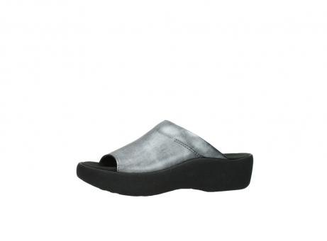 wolky slippers 3201 nassau 928 grijs metallic leer_24