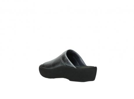 wolky slippers 3201 nassau 928 grijs metallic leer_4