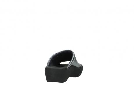 wolky slippers 3201 nassau 928 grijs metallic leer_8