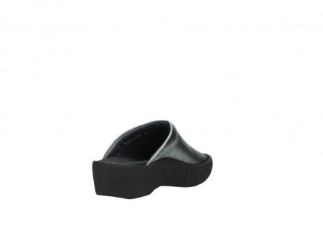 wolky slippers 3201 nassau 928 grijs metallic leer_9