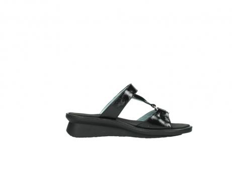 wolky slippers 3307 isa 600 zwart lakleer_13