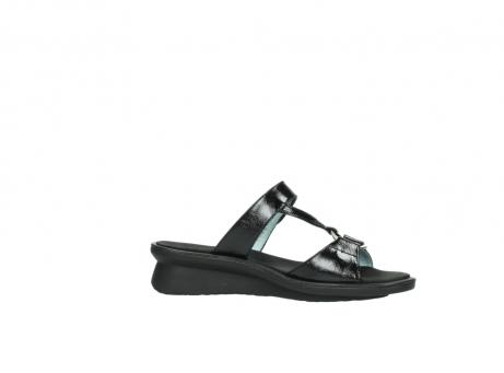 wolky slippers 3307 isa 600 zwart lakleer_14