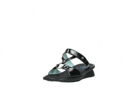 wolky slippers 3307 isa 600 zwart lakleer_21