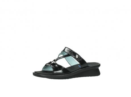wolky slippers 3307 isa 600 zwart lakleer_23