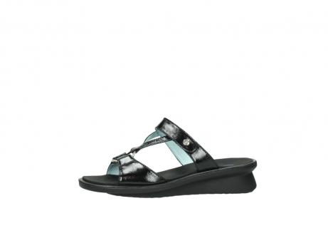 wolky slippers 3307 isa 600 zwart lakleer_24