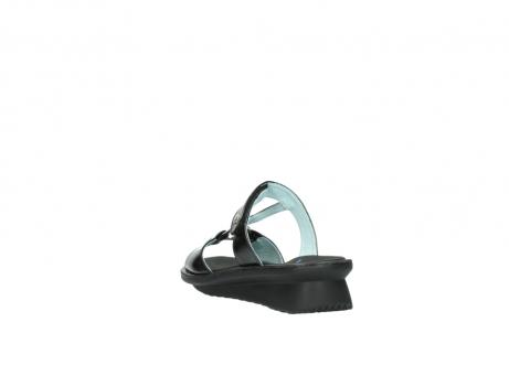 wolky slippers 3307 isa 600 zwart lakleer_5