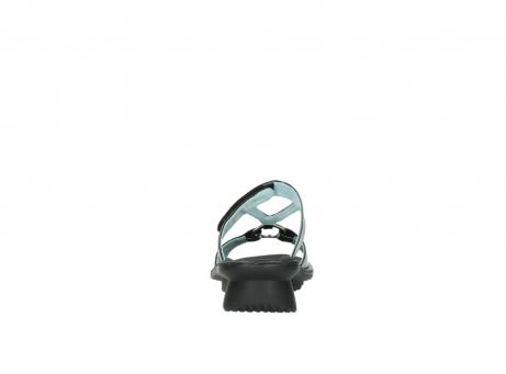 wolky slippers 3307 isa 600 zwart lakleer_7