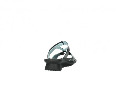 wolky slippers 3307 isa 600 zwart lakleer_8