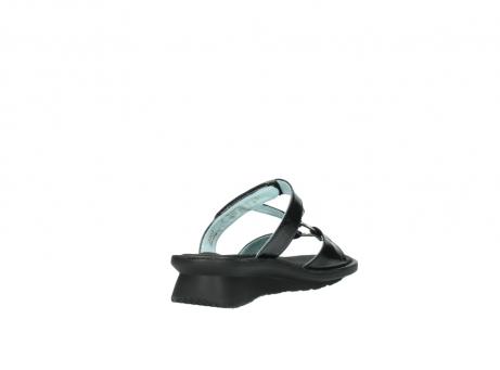 wolky slippers 3307 isa 600 zwart lakleer_9