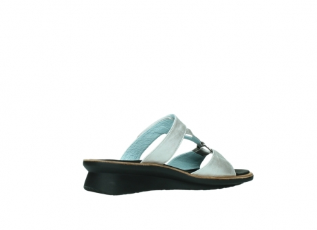 wolky slippers 3307 isa 919 parelwit metallic leer_11