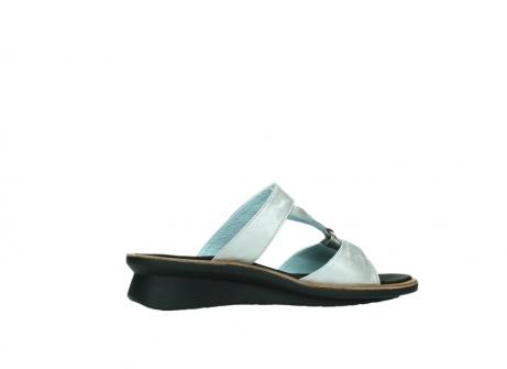wolky slippers 3307 isa 919 parelwit metallic leer_12