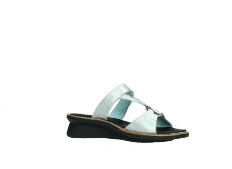 wolky slippers 3307 isa 919 parelwit metallic leer_15