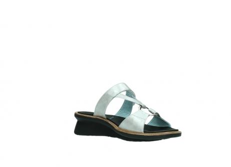 wolky slippers 3307 isa 919 parelwit metallic leer_16