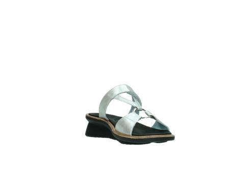 wolky slippers 3307 isa 919 parelwit metallic leer_17