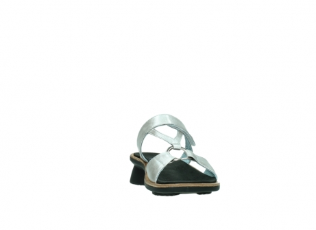 wolky slippers 3307 isa 919 parelwit metallic leer_18