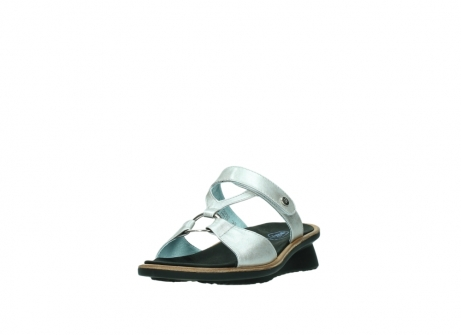 wolky slippers 3307 isa 919 parelwit metallic leer_21