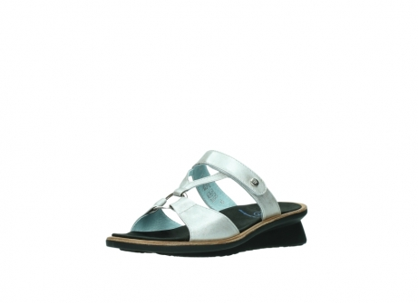 wolky slippers 3307 isa 919 parelwit metallic leer_22